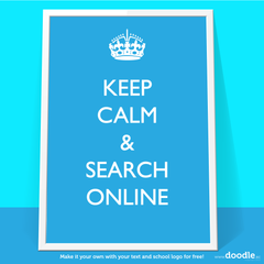 search online  poster - doodle education