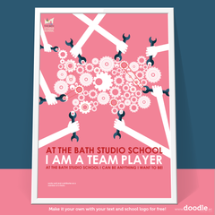 I am a team player - doodle education