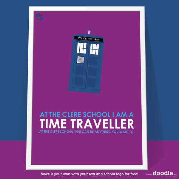I am a time traveller poster