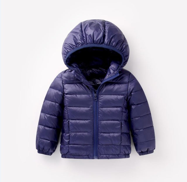 68085e26d ... HH 1-5Y Light children's winter jackets Kids 90% Duck Down Coat Baby  Winter ...