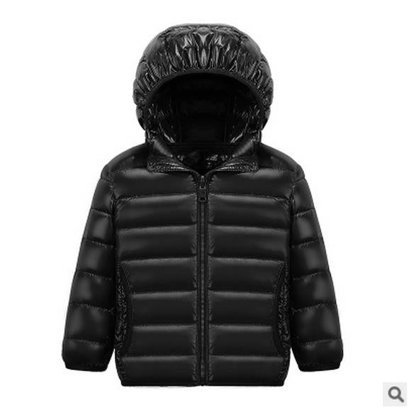 c6e757071a75f HH children jacket Outerwear Boy and Girl autumn Warm Down Hooded Coat  teenage parka kids winter ...
