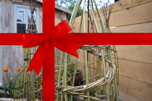 Gift version - weave a willow climbing plant support