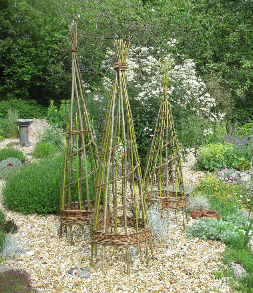 Willow structures for the garden - Thursday 18th May 2017