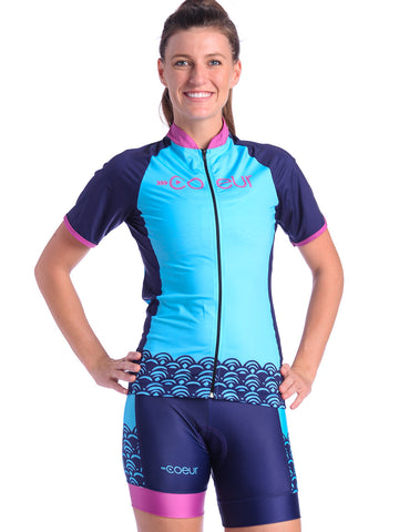 Coeur Cycle Jersey Hapuna