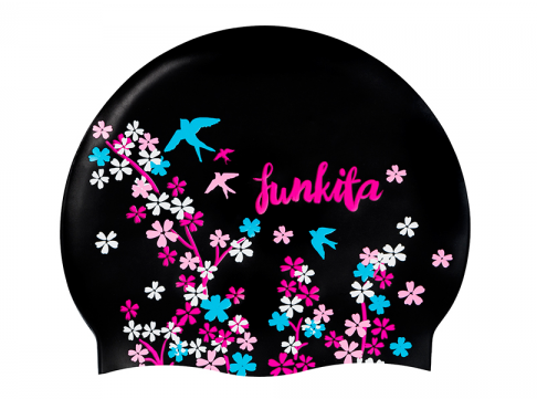 Funkita swim cap  Black Forest