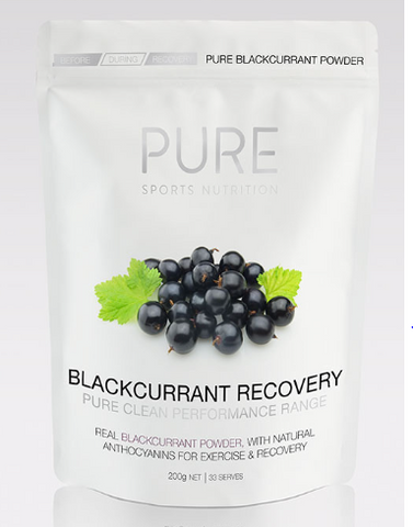 Pure Blackcurrent Recovery Pouch 200g