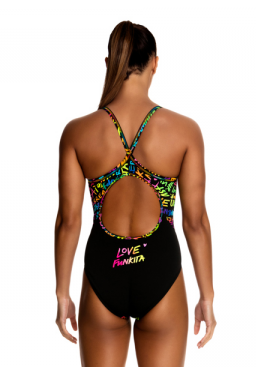 Funkita ladies Diamond Back 'Love Funkita'
