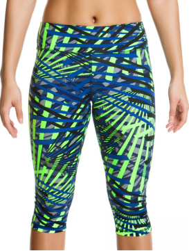 Funkita Active Wear Splinter 3/4 tights Splinter night