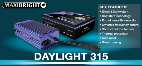 Maxibright Daylight 315 Ballast