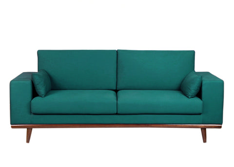 Colton Sofa - Peacock Blue - Vilaasita  - 1