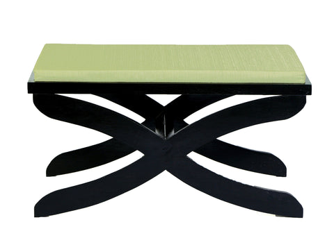 Aspen Bench with Poufs - Vilaasita  - 1