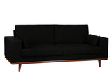 Colton Sofa - Black - Vilaasita  - 2