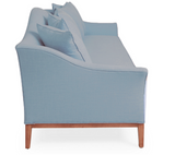 Cindy Camelback Sofa - Powder Blue - Vilaasita  - 2