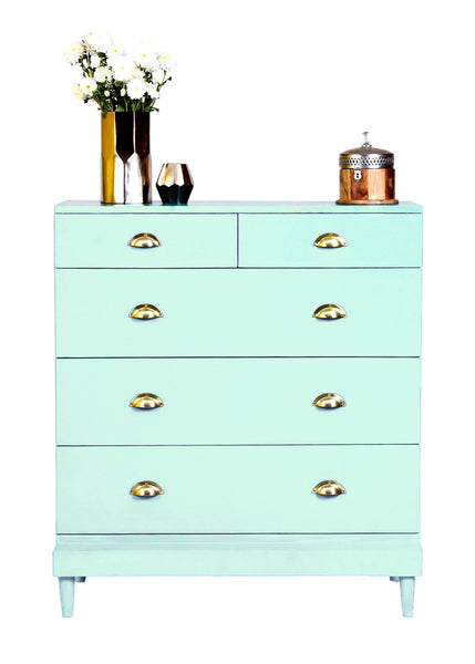 The Charlotte Chest - Cascade Blue - Vilaasita  - 1