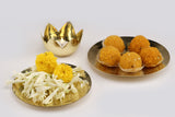 Anaya Platter Set - Brass (set of two)