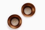 Niana T-light holder - Copper (Set of two) - Vilaasita  - 2