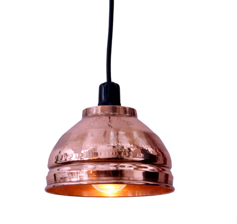 Anulia Pendant Lamp (Small)- Copper - Vilaasita  - 1