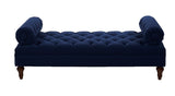 Elsa Tufted Bench - Blue - Vilaasita  - 2