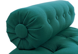 Elsa Tufted Bench - Teal - Vilaasita  - 3