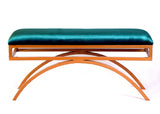 Ollie Arc Bench: Teal - Vilaasita  - 1