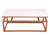 Rosa Marble Coffee Table - Vilaasita  - 2