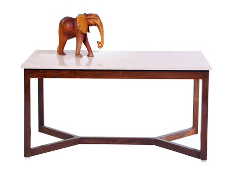 Allison Marble Coffee Table - Vilaasita  - 1