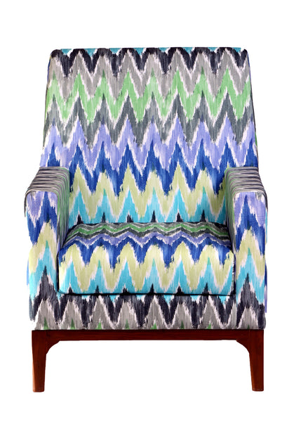 Ikat Club Chair - Vilaasita  - 1