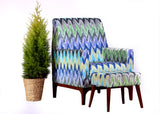Ikat Club Chair - Vilaasita  - 3