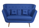 Scandinavian Sofa: Electric Blue - Vilaasita  - 2