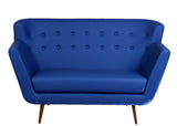 Scandinavian Sofa - Electric Blue - Vilaasita  - 3