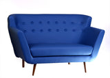 Scandinavian Sofa: Electric Blue - Vilaasita  - 4