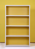 Lola White & Yellow Bookcase - Vilaasita  - 2