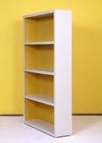 Lola White & Yellow Bookcase - Vilaasita  - 3