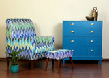 Ikat Club Chair - Vilaasita  - 4