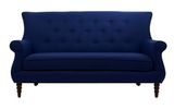 Jada Tufted Sofa - Blue - Vilaasita  - 1