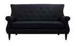 Jada Tufted Sofa - Grey - Vilaasita  - 1