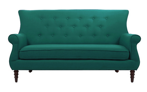 Jada Tufted Sofa - Teal - Vilaasita  - 1