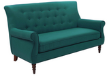 Jada Tufted Sofa - Teal - Vilaasita  - 2