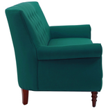 Jada Tufted Sofa - Teal - Vilaasita  - 4