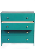 Vintage Teal Blue Chest - Vilaasita  - 3
