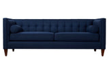 Oliver Club Sofa - Blue - Vilaasita  - 1