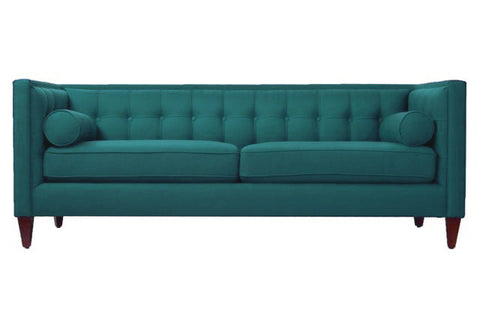Oliver Club Sofa - Teal - Vilaasita  - 1