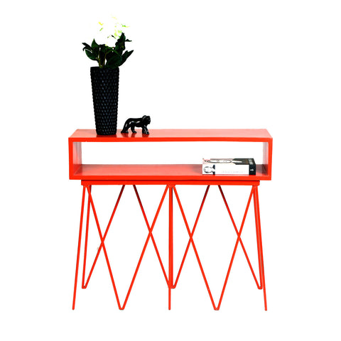 Madisson Side Table: Red - Vilaasita  - 1