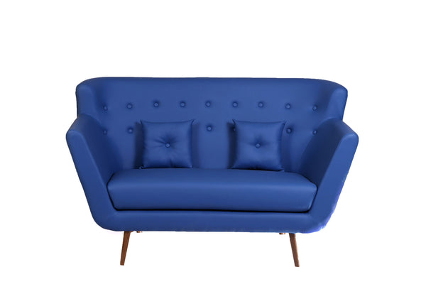 Scandinavian Sofa: Electric Blue - Vilaasita  - 1
