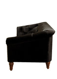 Empire Tufted Sofa - Black - Vilaasita  - 4