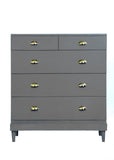 Charlotte Chest - Steel Grey - Vilaasita  - 2