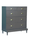 Charlotte Chest - Steel Grey - Vilaasita  - 4