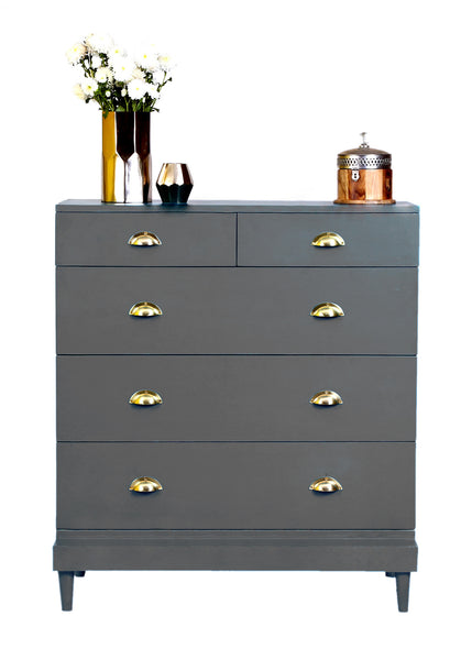 Charlotte Chest - Steel Grey - Vilaasita  - 1