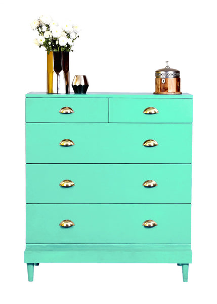 Charlotte Chest - Surf Green - Vilaasita  - 1