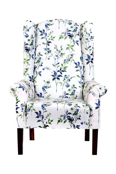 Cora Wingback Chair - Vilaasita  - 1